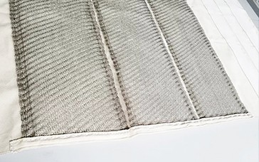 Design features of wax cloth polishing cloth